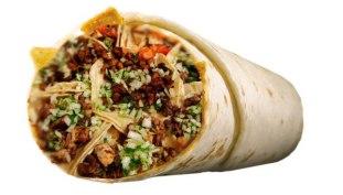 street taco burrito