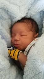 Zion Russell sleeping...Zzzz